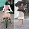 Thời trang - Soi thời trang chống nắng của phụ nữ Châu Á