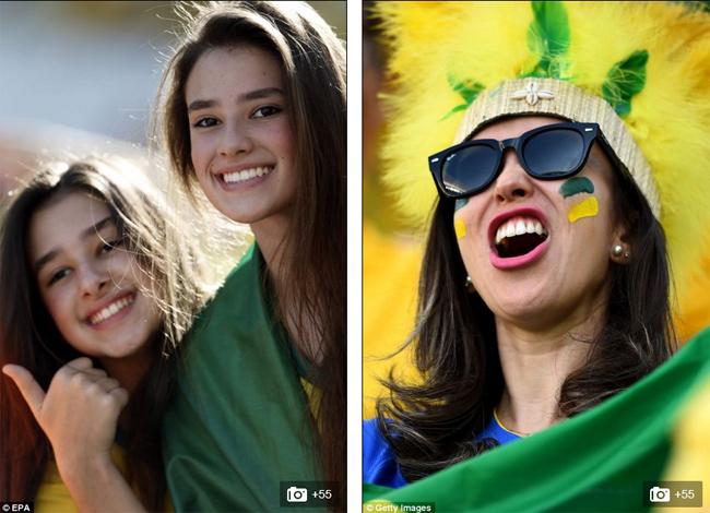 Vào lúc 0h ngày hôm nay, 13/6, (theo giờ Việt Nam), lễ khai mạc World Cup 2014 rực rỡ sắc màu mang đậm bản chất đất nước của những vũ điệu Sampa đã diễn ra. Trên khán đài, rất đông cổ động viên nữ đã có mặt trong ngày hội thể thao lớn nhất hành tinh.