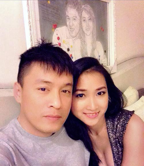vo 9x lam truong len tieng ve anh cuoi gay sot - 2