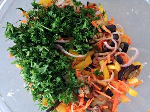salad ca tim chien ngon, la mieng - 4