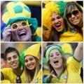 Tin tức - Các nữ cổ động viên nóng bỏng ngày khai mạc World Cup