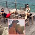 """Làng sao - Huy Khánh và vợ """"trốn con"""" đi du lịch"""