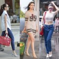 Thời trang - Sao Việt xuống phố như sải bước trên sàn catwalk