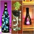 Nhà đẹp - 10 cách 'hay ho' tận dụng vỏ chai thủy tinh