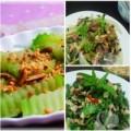 Bếp Eva - Thực đơn: Bò xào lá lốt, nộm rau muống