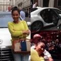 Làng sao - Thu Minh đi siêu xe 4,6 tỷ ở London