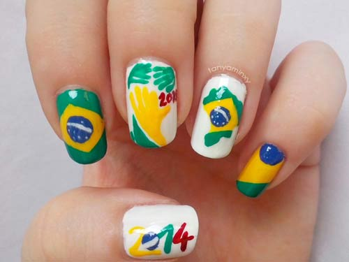 hoa vao world cup voi mau nail 'sieu' dep - 6