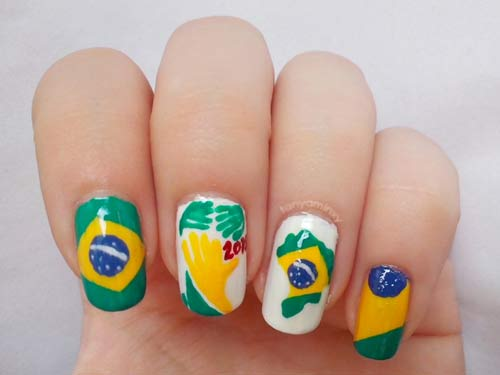 hoa vao world cup voi mau nail 'sieu' dep - 8