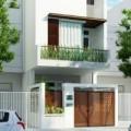 Nhà đẹp - Xây nhà 3 tầng hợp phong thủy cho tuổi Mậu Ngọ