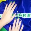 Làm đẹp - Hòa vào World Cup với mẫu nail 'siêu' đẹp