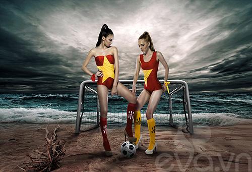 mau ngoai dien ao tam co viet 'tiep lua'  world cup - 1