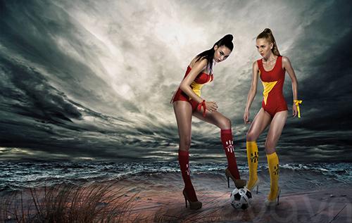 mau ngoai dien ao tam co viet 'tiep lua'  world cup - 2
