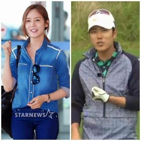 """""""bup be han"""" sung yuri hen ho cau thu golf - 1"""