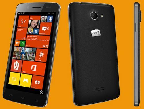 micromax trinh lang bo doi smartphone gia re chay windows phone - 2