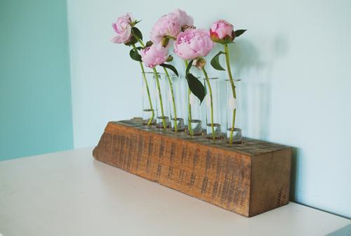 lo hoa ca tinh lam tu go + ong nghiem - 1