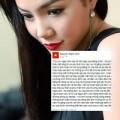 Làng sao - Ngọc Anh khẳng định không mua tin nhắn