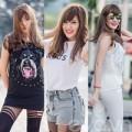 """Thời trang - Phong cách đầy """"cám dỗ"""" của hotgirl Việt"""
