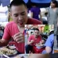 Làng sao - Hoàng Hải mê mẩn ngồi ăn quán vỉa hè