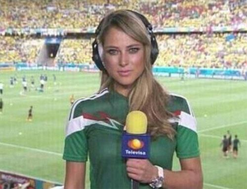 nu phong vien xinh dep nhat world cup 2014 - 1