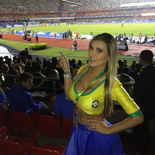 nu phong vien xinh dep nhat world cup 2014 - 12