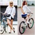 """Thời trang - Đi xe đạp cũng phải """"sang chảnh""""!"""