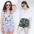 Thời trang - Dạo quanh thị trường quần sooc mùa hè
