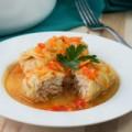 Bếp Eva - Bắp cải cuộn thịt gà hầm cho cả nhà