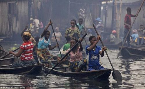 makoko: thi tran o chuot noi o nigeria - 4