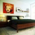 Nhà đẹp - Chọn tranh ảnh phòng ngủ hợp phong thủy