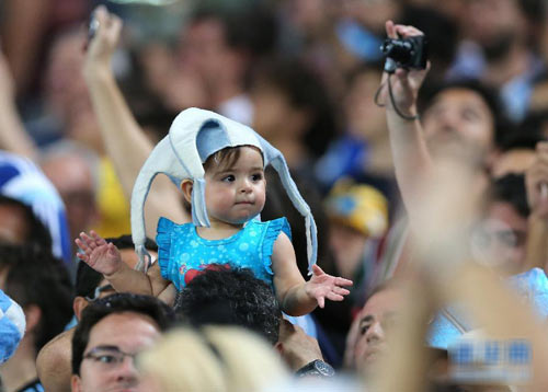 "nhung em be sieu ""cute"" mua world cup - 3"