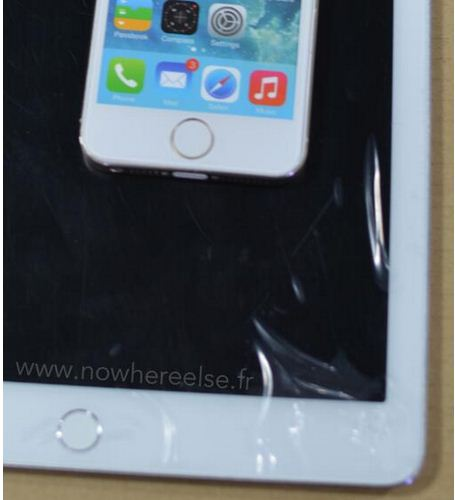 ipad air 2 lai lo anh nut home tich hop touch id - 1
