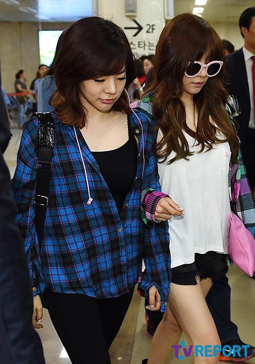 taeyeon (snsd) duoc che chan tai san bay - 9