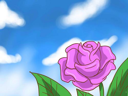 trong hoa hong leo ai nhin cung phai me - 1