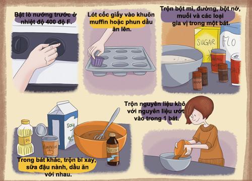 banh muffin bi do cho nguoi an kieng - 2