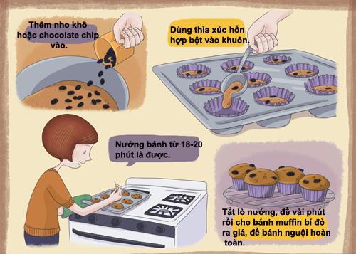 banh muffin bi do cho nguoi an kieng - 3