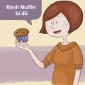 Bánh muffin bí đỏ cho người ăn kiêng