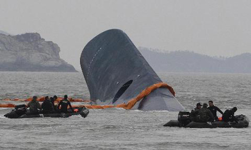 pha sewol: hs song sot tro lai truong trong nuoc mat - 2