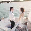 Làng sao - Lộ ảnh cưới của Văn Quyến và bạn gái xinh đẹp