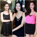 Thời trang - BST váy áo 2 dây 'thượng hạng' của HH Thùy Dung