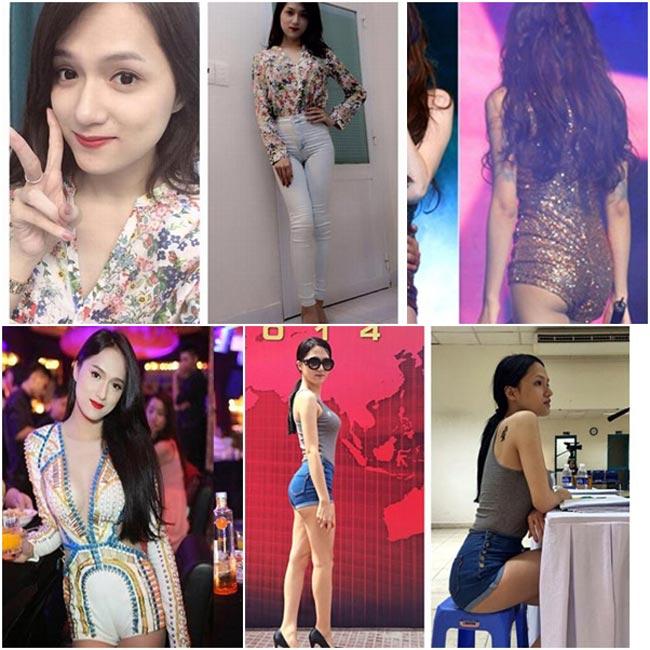 Hương Giang Idol có thể xem là người đẹp thường xuyên bị chỉ trích vì những kiểu quần gây nhức mắt người đối diện như để lộ điểm nhạy cảm hoặc mặc quần quá ngắn.