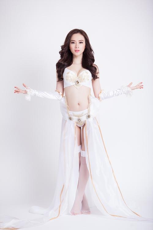 angela phuong trinh hoa chien binh sexy - 3