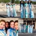 Thời trang - Chân dài Việt lăng-xê áo dài trên đất Pháp