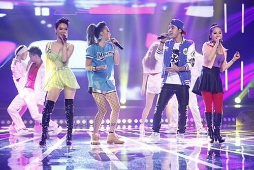 """tra my idol nhay """"yeu duoi"""" vi mang bung bau? - 13"""