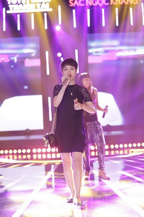 """tra my idol nhay """"yeu duoi"""" vi mang bung bau? - 3"""