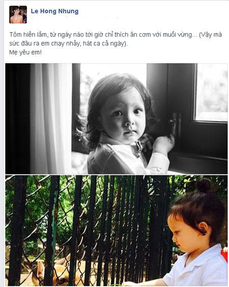 "hong nhung: ""tom chi thich an com muoi vung"" - 1"