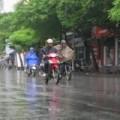 Tin tức - Đầu tuần, Hà Nội mưa rào và dông
