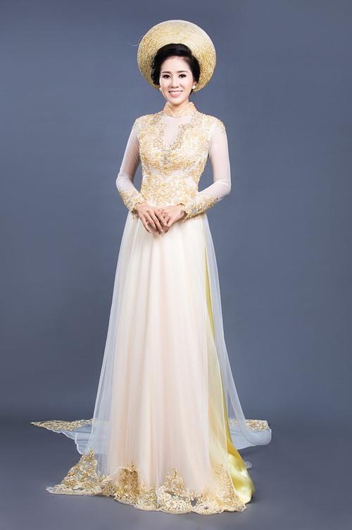 """Lê Phương mặc áo dài cưới """"không đụng hàng""""-12"""