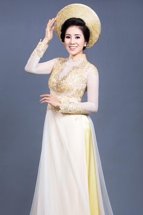 """Lê Phương mặc áo dài cưới """"không đụng hàng""""-11"""