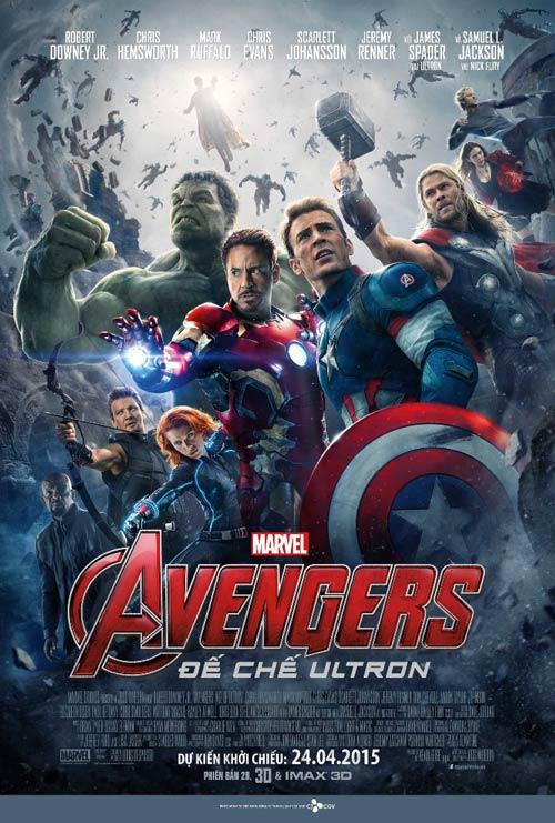 """lo dien nhan vat moi trong """"avengers: de che ultron"""" - 1"""