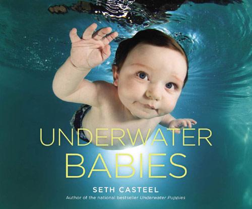 Bộ ảnh các bé ngụp lặn dưới nước cực đáng yêu-1